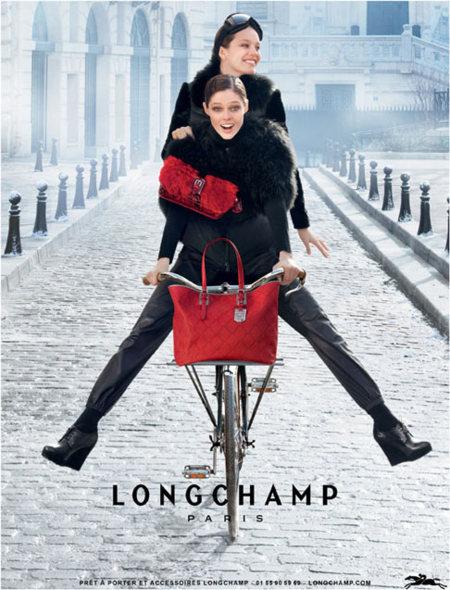 Diversión de la mano de Longchamp