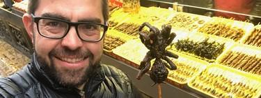 Se comió una tarántula, montó la primera tienda de insectos de Europa y ahora quiere que eches escorpiones a tu paella