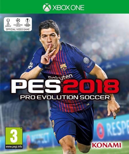 Konami Pro Evolution Soccer 2018 Pes 2018 Xbox One Copertina Eu Lingua It