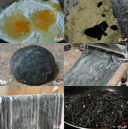 Cómo hacer pasta de colores y sabores