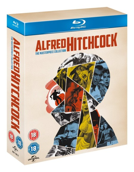 Alfred Hitchcock: The Masterpiece Collection en Blu-ray por 31,45 euros