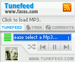 Tunefeed, widget para compartir tu música en tu blog