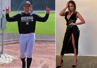 Pues sí, Alex Rodríguez es el nuevo amor de Jennifer Lopez