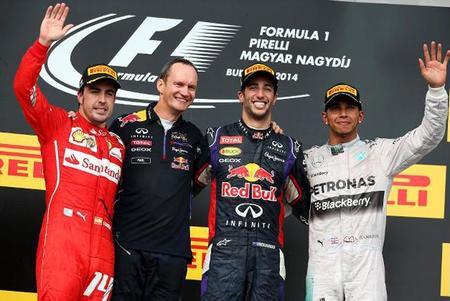 Brillante victoria de Daniel Ricciardo en el Gran Premio de Hungría