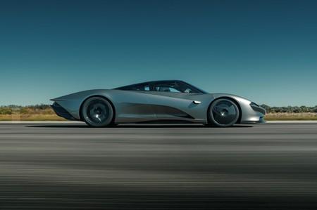 Rendimiento extremo: la batería del McLaren Speedtail puede exprimirse en 20 segundos y recargarse en sólo 35
