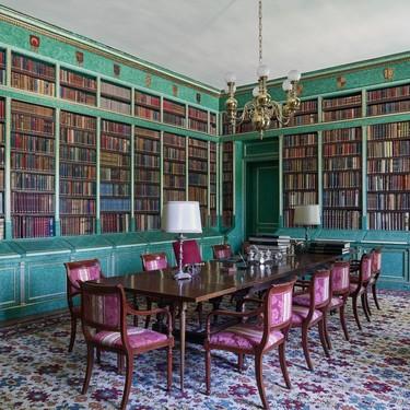 La biblioteca del Palacio de Liria, una de sus estancias más atractivas, se incluirá en las visitas