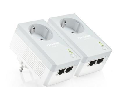TP-Link ya tiene un nuevo PLC a 500 Mbps con toma de corriente incluida