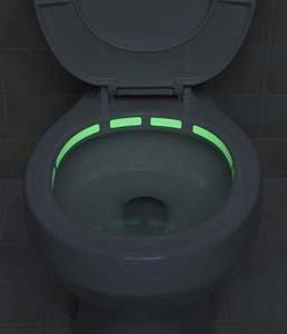 Luces de emergencia para el váter