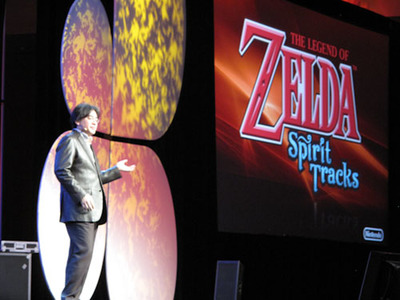 GDC 09: 'The Legend of Zelda: Spirit Tracks' anunciado para DS (tráiler)