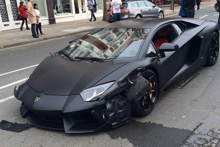 Dolorpasion Un Lamborghini Aventador Se Accidenta En Las
