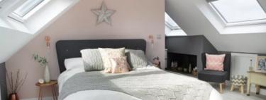 Antes y después: un bajo cubierta convertido en habitación de matrimonio, con baño y vestidor