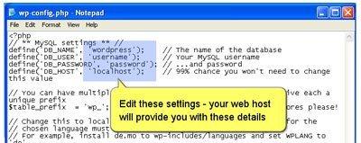 Wordpress 2.0: tutorial visual de instalación