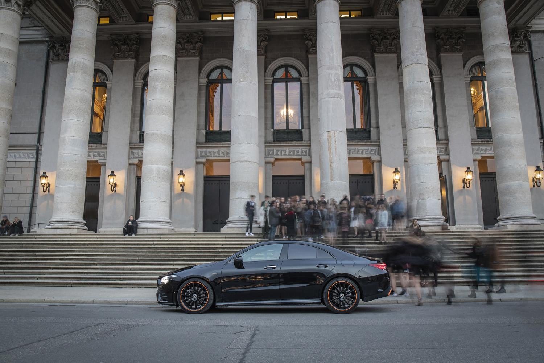 Foto de Mercedes-Benz CLA Coupé 2019, toma de contacto (154/248)