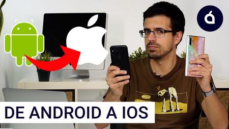 Cómo mover los contactos de un Android a un iPhone