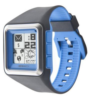 MetaWatch Strata, otro reloj inteligente que busca financiación