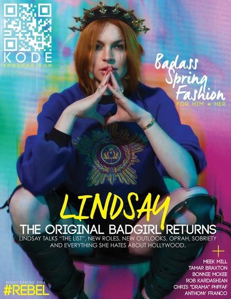 """Lindsay Lohan y un vodka """"on the rocks"""", la mejor manera de hacer una entrevista"""