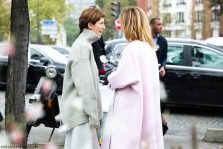 Un outfit benéfico: las calles se tiñen de rosa