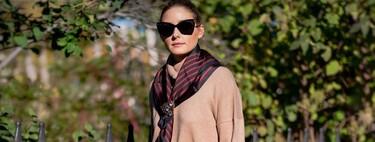 Olivia Palermo nos muestra distintas manera de combinar un pañuelo y sacarle el mayor partido posible