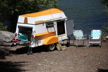 La caravana que todo pescador desearía tener