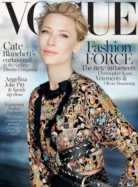 Vogue Australia: Cate Blanchett
