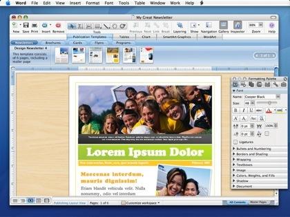 Primera toma de contacto con Microsoft Office 2008 para Mac