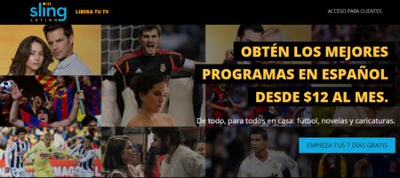 Sling TV apuesta por el mercado latino con su nuevo paquete para hispanohablantes