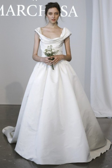 Marchesa vestido novia pv 2015
