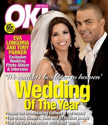 Eva Longoria: ahora sí, las fotos de la boda