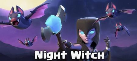 Ajustes en Clash Royale: deja de usar la Bruja Nocturna (al menos hasta que dejen de nerfearla)
