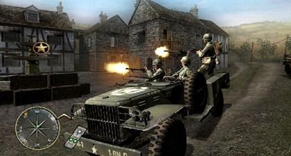 Call Of Duty 3 suspende en contar una historia