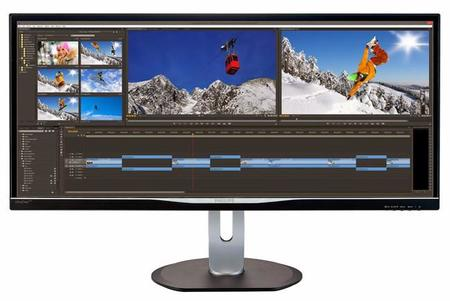 "Philips presenta su nuevo monitor ultrapanorámico de 34"" con resolución Quad HD"