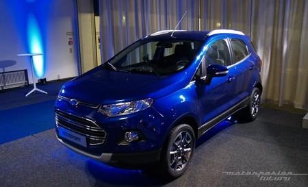 El Ford EcoSport estrenará en Europa el nuevo Sync con AppLink