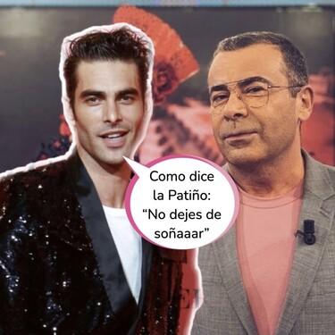 El tonteo entre Jon Kortajarena y Jorge Javier Vázquez: el presentador de 'Sálvame' se suelta la melena en Instagram y envía este mensajito