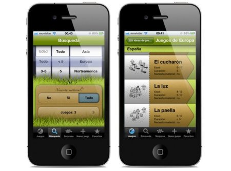 225 juegos para niños, la aplicación para iOS que nos enseña juegos de todo el mundo