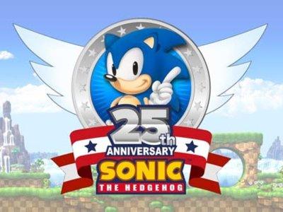 Sega prepara el 25 aniversario de Sonic y ya presentan su logo oficial