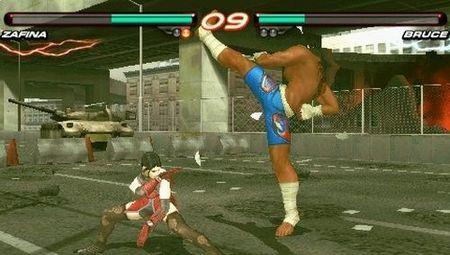 'Tekken 6'. Vídeos de su versión para PSP [GamesCom 2009]