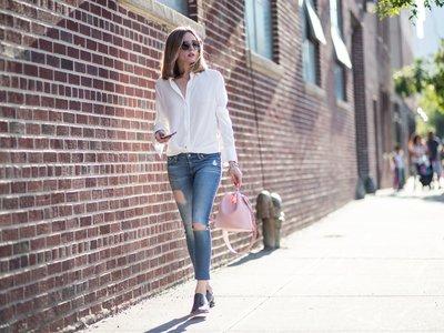 Sencilla y estilosa, Olivia Palermo nos da las claves para la vuelta al trabajo con un look de lo más favorecedor
