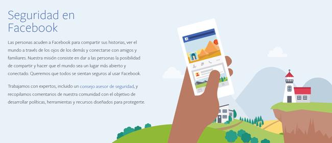 Centro De Seguridad Facebook