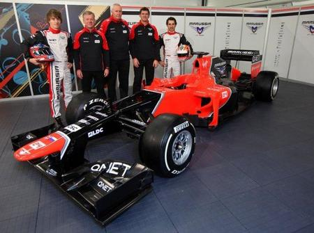 Marussia F1 Team desvela el MR01