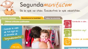 Segundamanita.com: dar lo que no usan y encontrar lo que los bebés necesitan