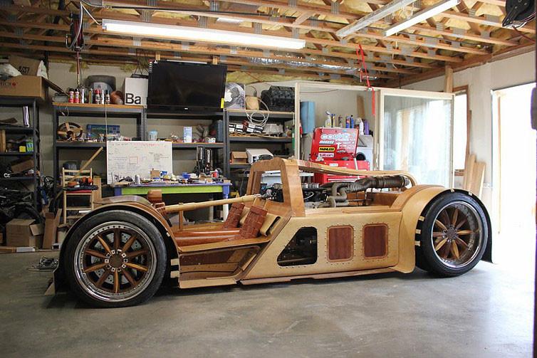 Foto de Splinter, el coche de madera (2/11)