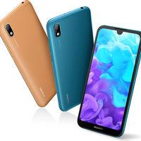 Huawei Y5 2019, el cuero se lleva este año en la gama de entrada de Huawei