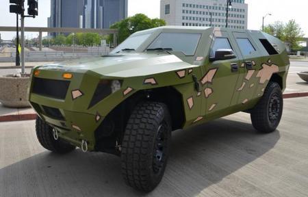 FED Bravo, el híbrido destinado a sustituir al Humvee