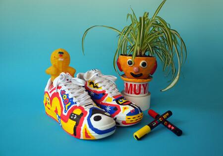 Saca al artista que hay en ti con la última colección de zapatillas deportivas personalizables de Pull & Bear