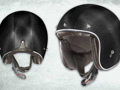 X-Lite X-201 Ultra Carbon, el casco retro-radical de fibra de carbono