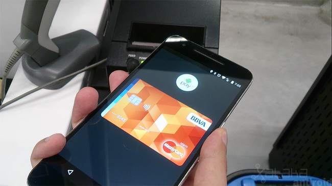 Probamos Android™ Pay