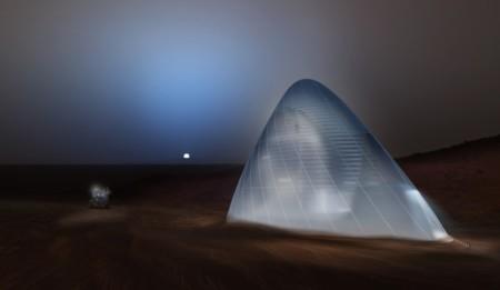 La NASA elige los mejores diseños de hábitats impresos en 3D que podríamos ver algún día en Marte