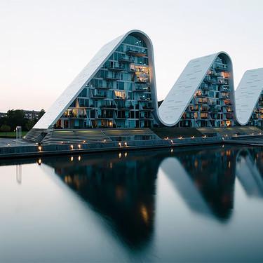 The Wave, un edificio de apartamentos sorprendente en el que nos gustaría vivir