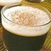 Gelatina de café con crema de leche