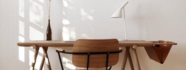 Nueve ideas de mesas plegables para el comedor, el estudio o la terraza que nos ayudan a ganar espacio en casa sin perder estilo